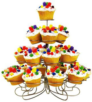 3-4-Tier-13-23-Cupcake-Party-Stand-Cup-Cake-Holder-New