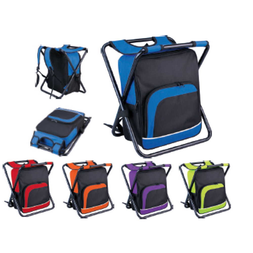 Cooler Bag And Folding Chair All In One Camping Picnic