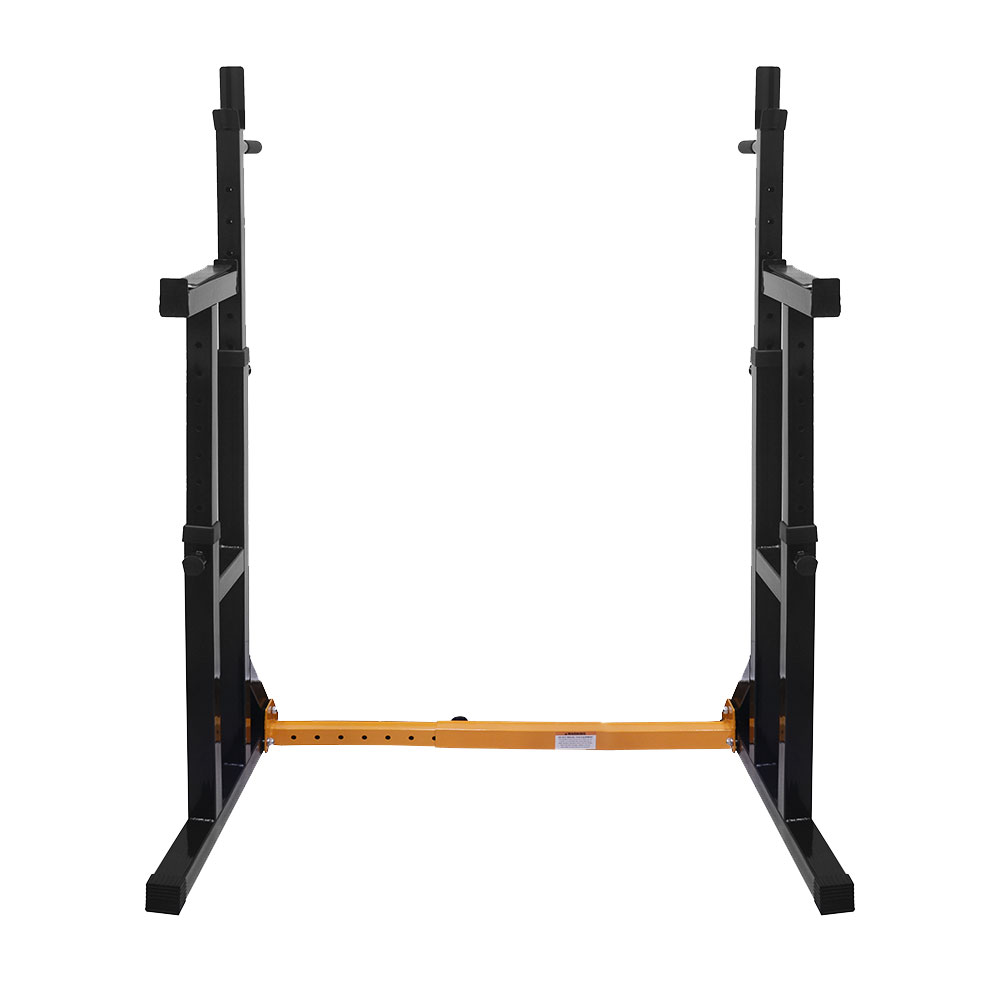 Vivo Adjustable Squat Rack Amp Dip Stand Barbell Weight Gym