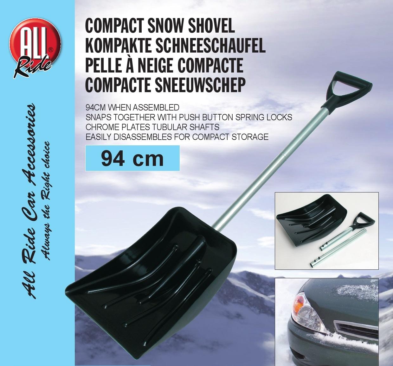 TELESCOPIC ALUMINIUM SNOW GARDEN SHOVEL SPADE SCOOP FOR CAR HOME OFFICE CLEAR