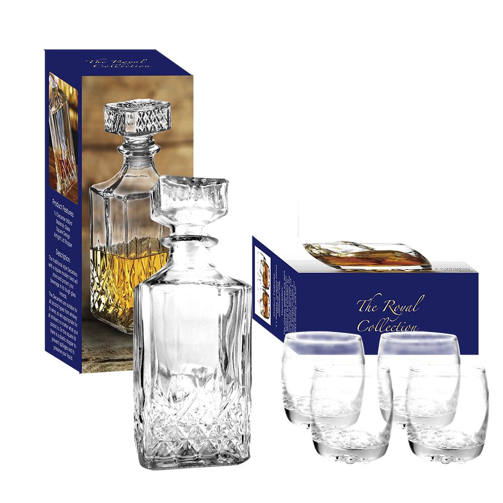Whisky vasos copas de vino vidrio decantador y la for Copas para whisky