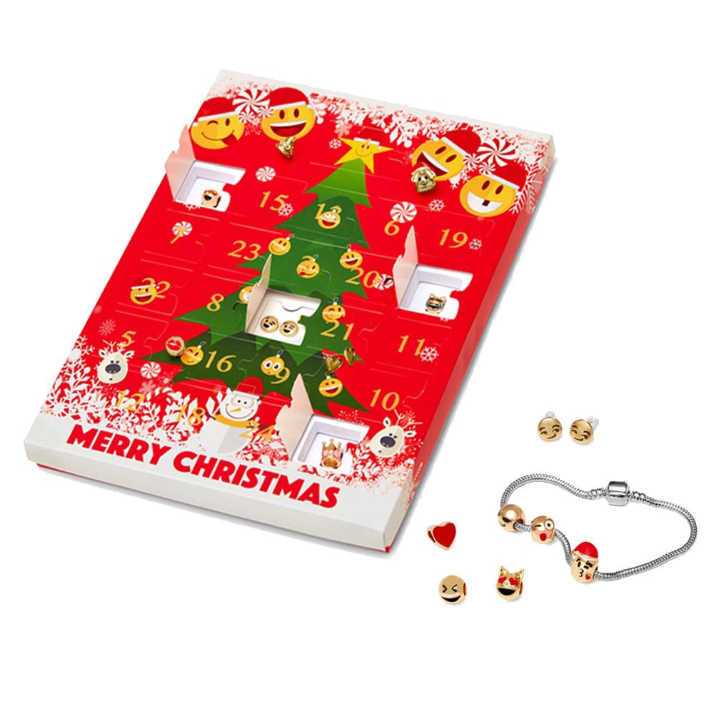 Christmas Emoji Jewellery Advent Calendar 8 Stunning