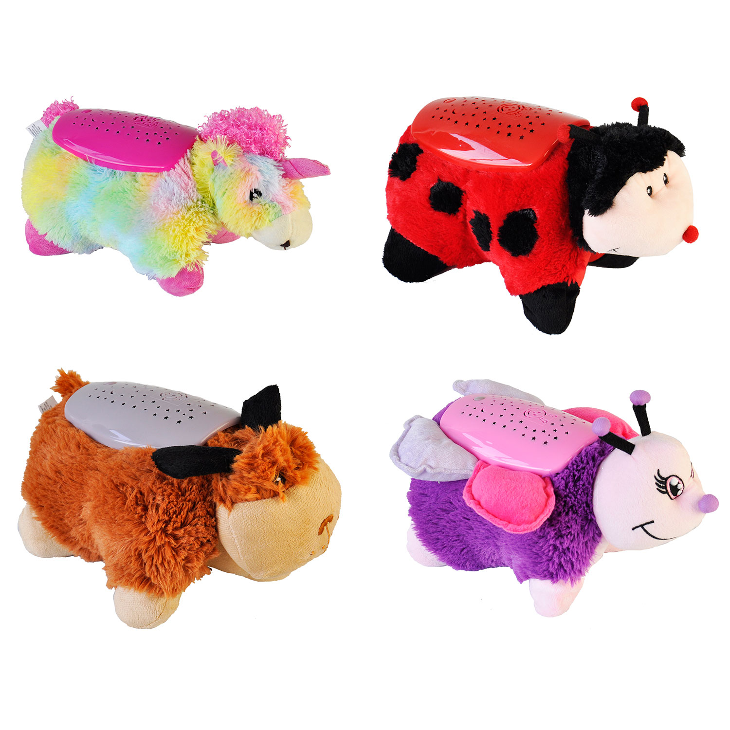 Animal Light Pillows : ANIMAL CUDDLE PET PILLOW CUSHION DREAM NIGHT LIGHT BED LITES KIDS CHILDRENS TOY eBay