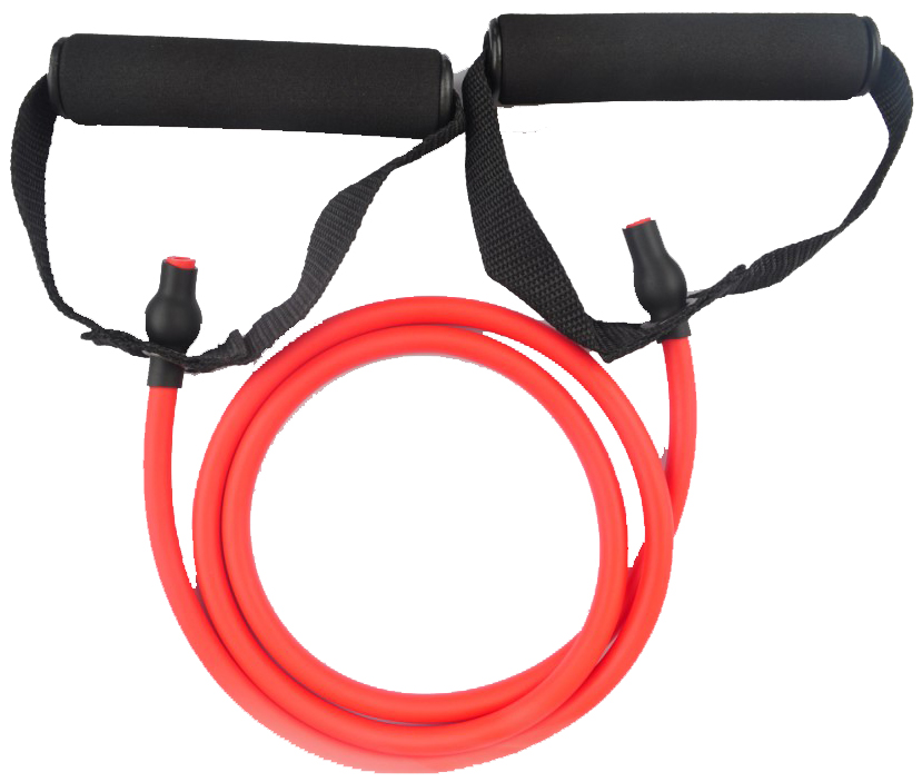 ViVo Resistance Bands Gym Exercise Tubes Stretch Heavy Set