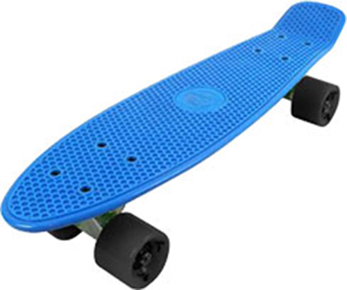 Retro skateboard skater skating plastic complete deck