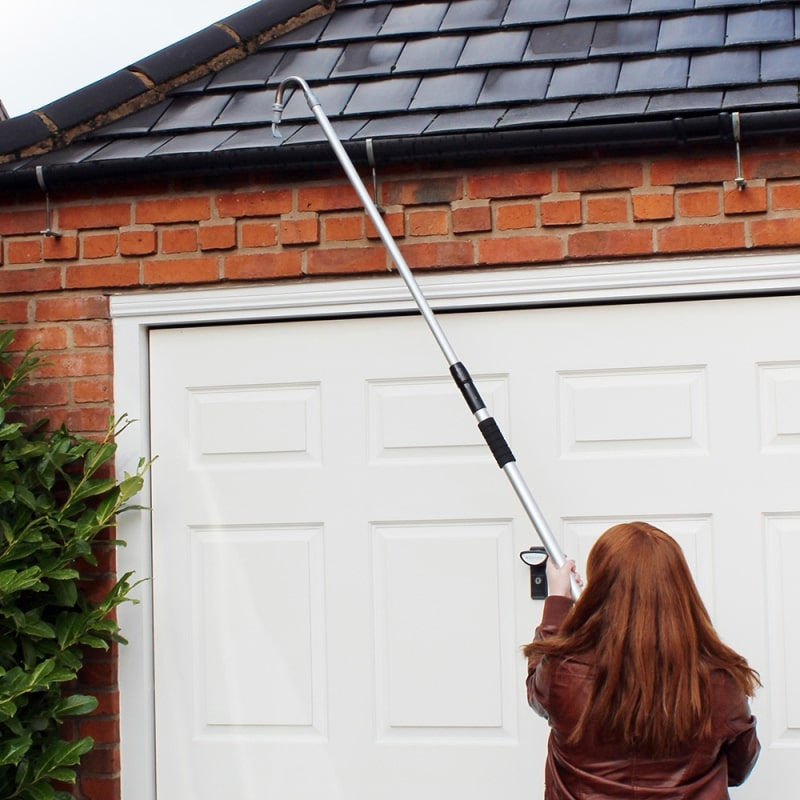 Large Telescopic Extendable Gutter Cleaner Pole Pipe Water