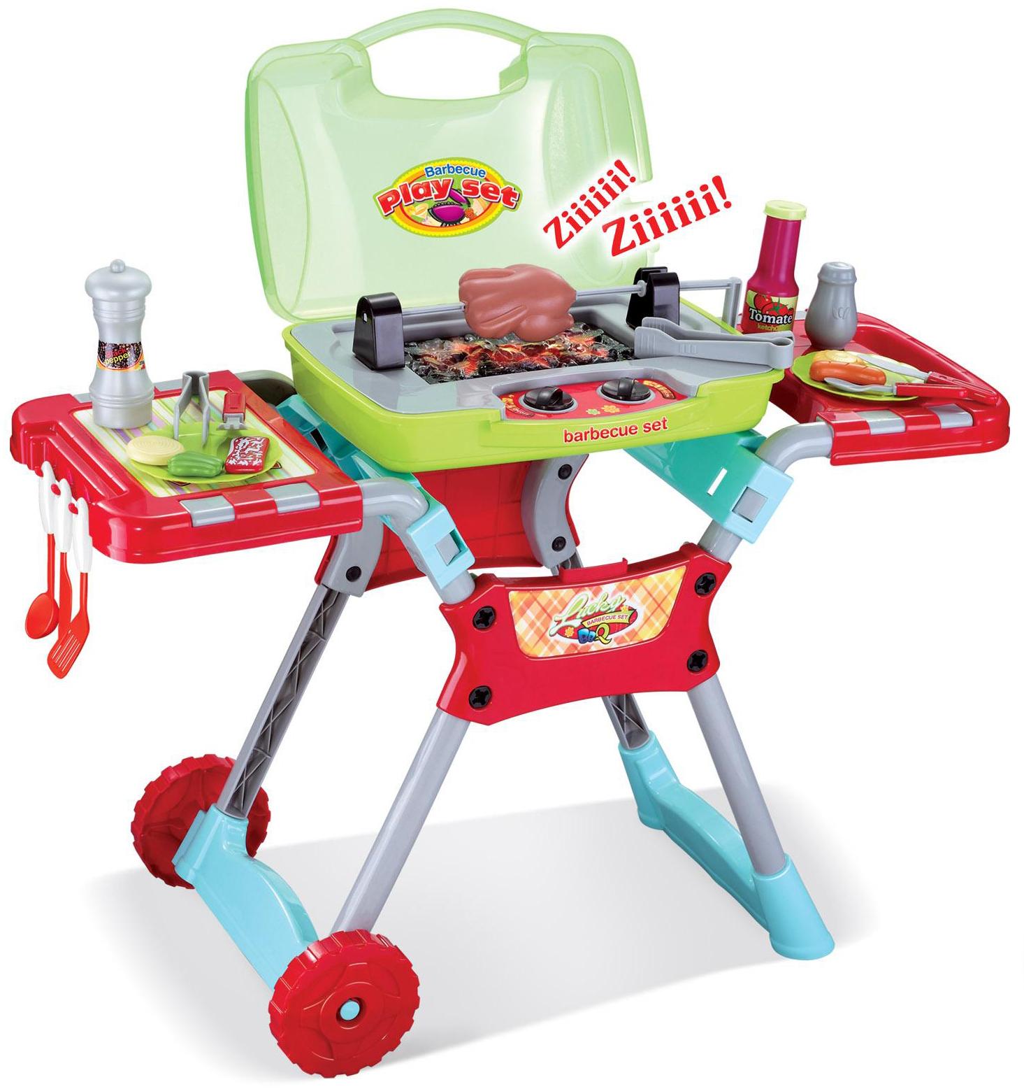 Children Kids Kitchen Cooking Doctor Supermarket BBQ Play