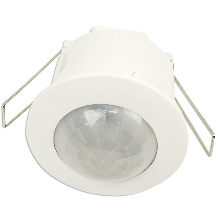 Flush Mounted Recessed Ceiling PIR Sensor 360 Motion Detector Light Security