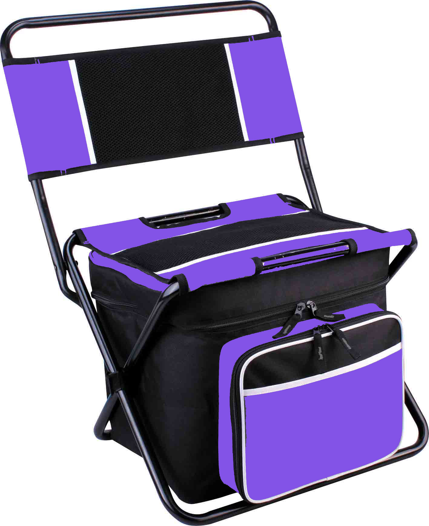 Cooler Bag Backpack And Folding Chair All In One Camping