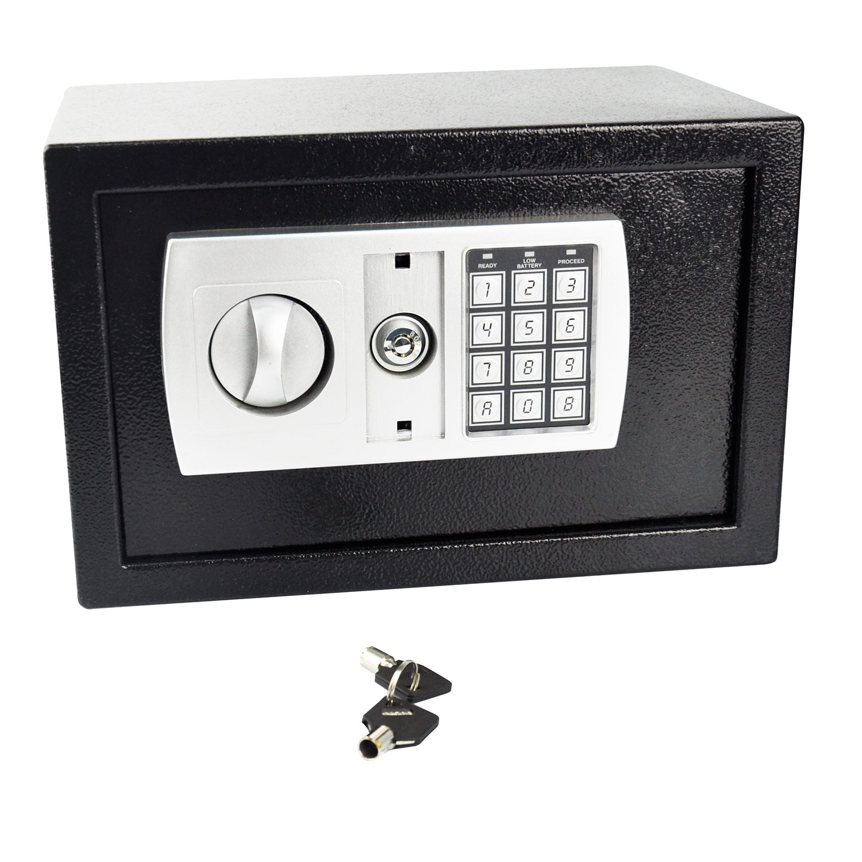Electronic Digital Keypad Safe Deposit Box Security Steel Home Hotel Cash Money 5055257503762 | eBay