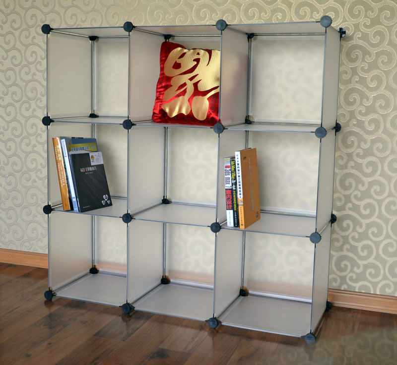 Zelt Cube Wardrobe : Easy cube storage cupboard shoe rack shelf book clothes