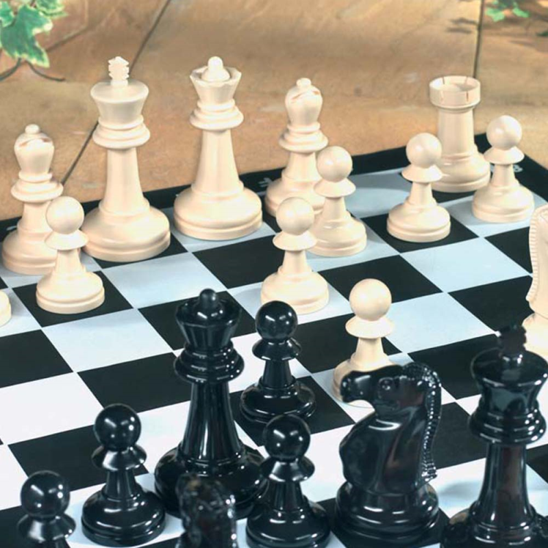 Giant Garden Chess Set 2 player Strategy Board Game Summer Outdoor GA003