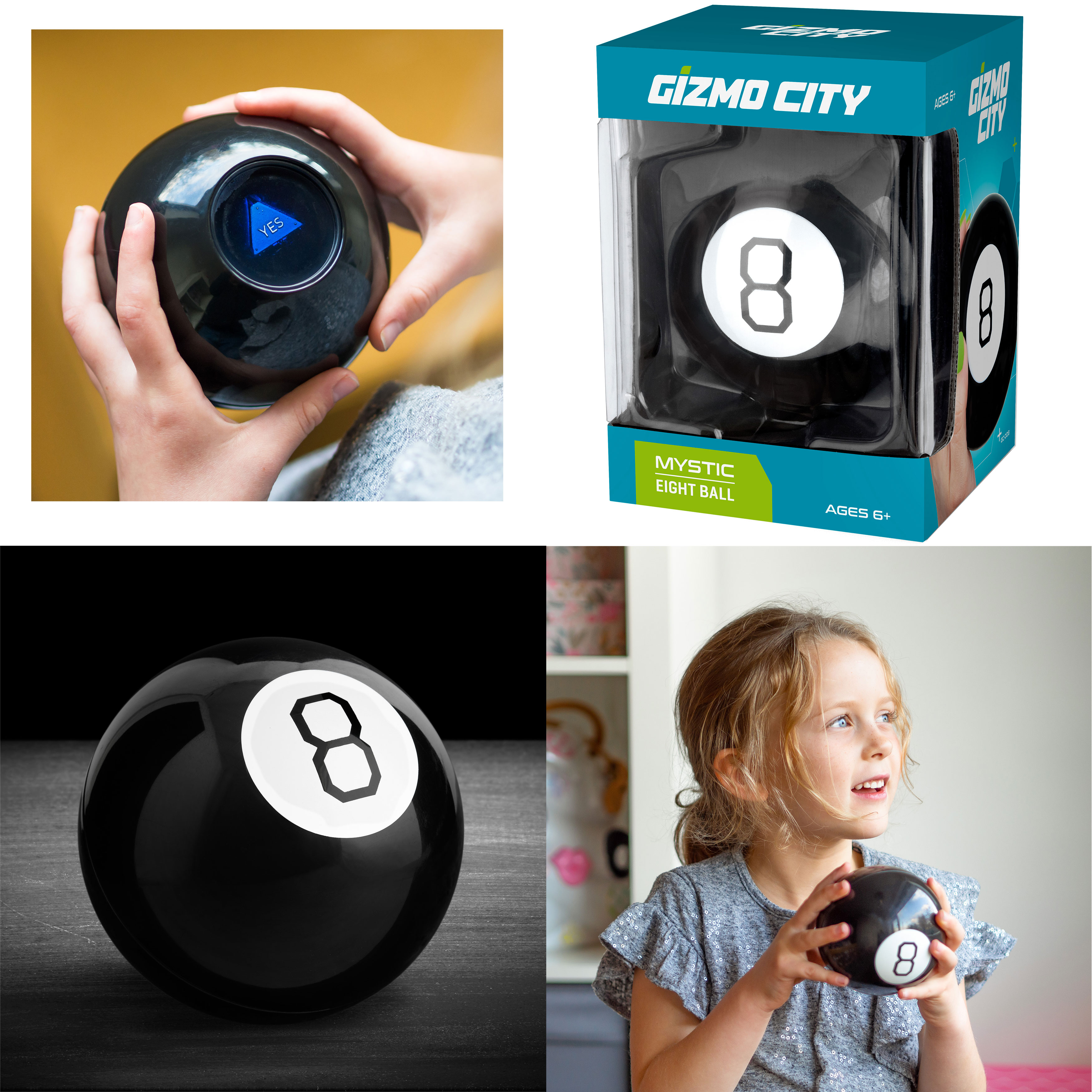 8-Ball Magic Mystic Decision Making Fortune Telling Cool Toys Kids Children Gift
