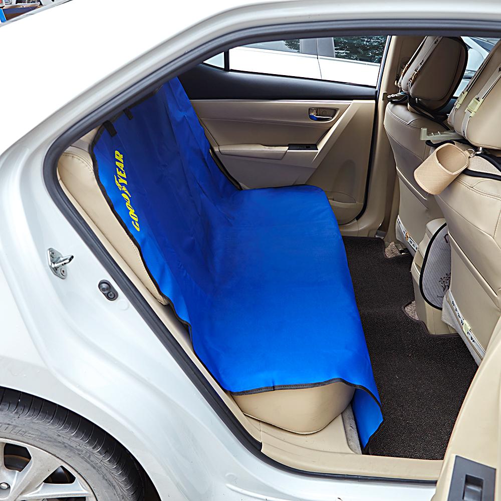 Goodyear Waterproof Car Rear Seat Cover Boot Liner Mat