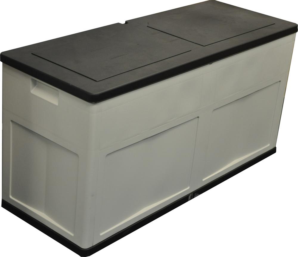310l large outdoor garden storage box chest cushion equipment lid shed plastic ebay. Black Bedroom Furniture Sets. Home Design Ideas
