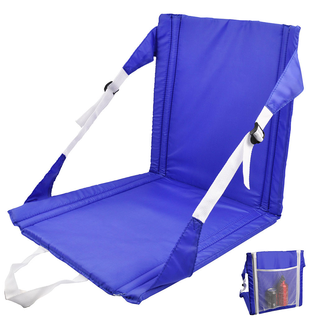 Folding Outdoor Seat Chair Back Support Camping Fishing Hunting Picnic Festiv