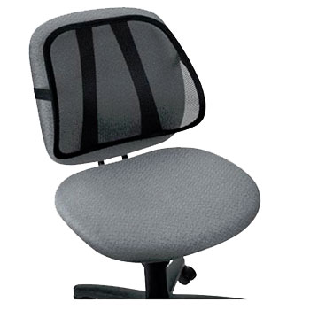mesh back lumbar support office chair car van seat ebay