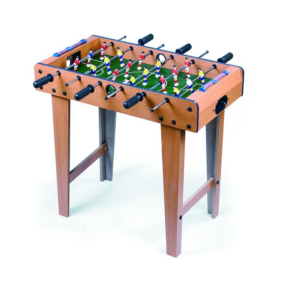 Table football soccer game wooden frame free standing for Supreme 99 table game