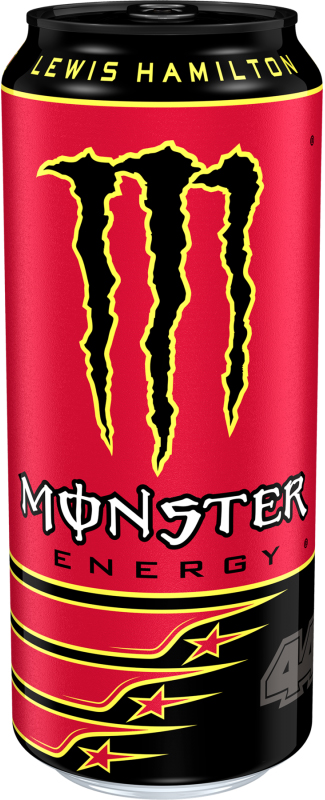 12x 500ml Cans Of Lewis Hamilton 44 Monster Energy Drink