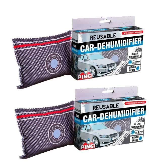 2 Pingi Car Dehumidifier Reusable Anti Mist Moisture Condensation Absorbing Bag Ebay