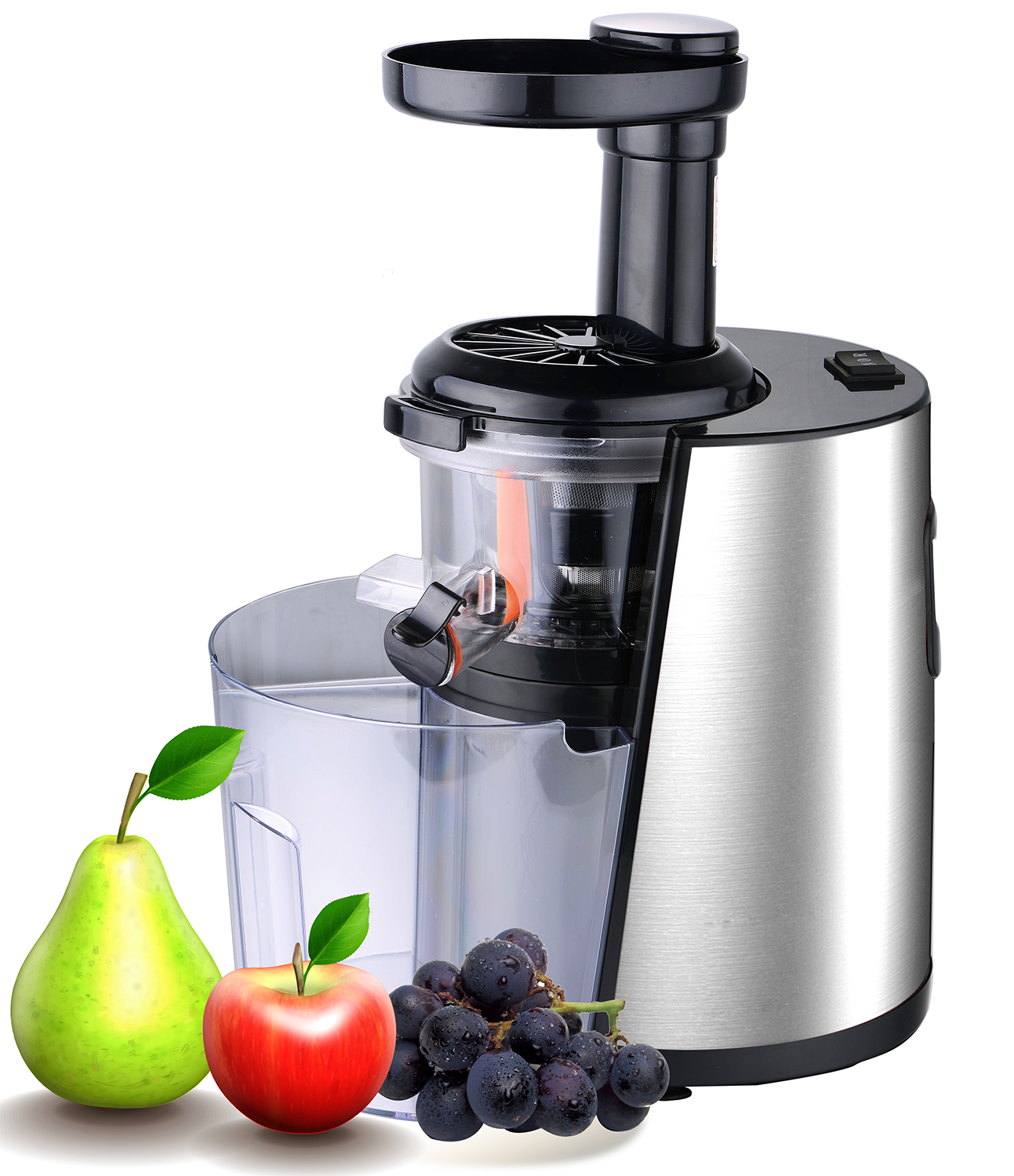 Slow Juicer Oranges : vivo Pure Ultra Silent Slow Fruit Juicer Easy Clean High Yield Dual Stage eBay