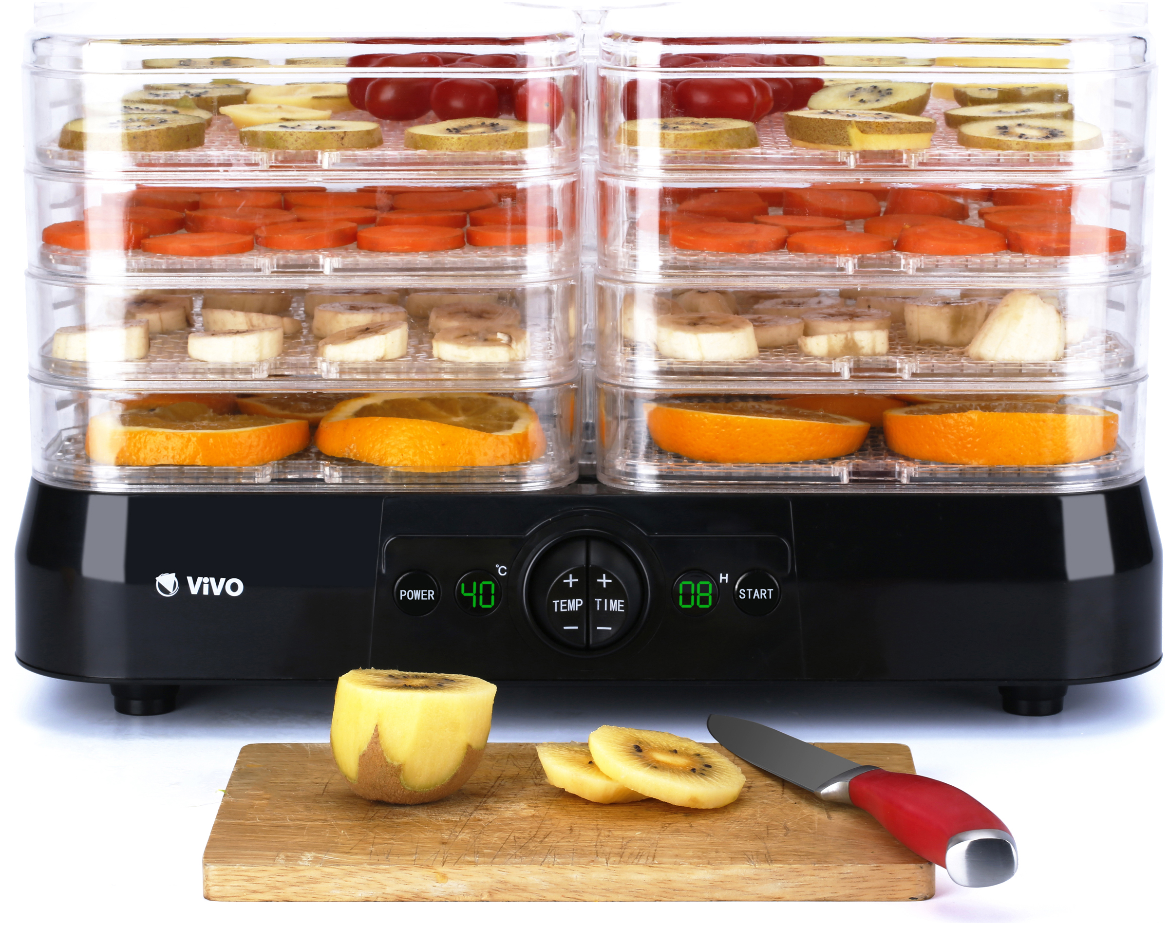 Professional 4 Tray Food Dehydrator Plus Fruit Dryer