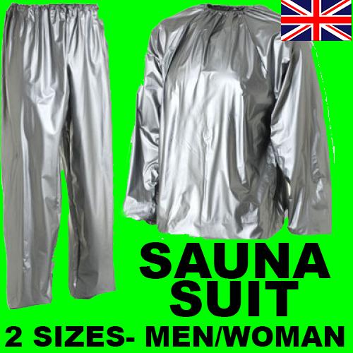 Купить MEN WOMAN SAUNA SUIT FOR WEIGHT LOSS SLIMMING TRAINING EXERCISE SWEAT GYM HOME на eBay.co.uk из Великобритании с доставко