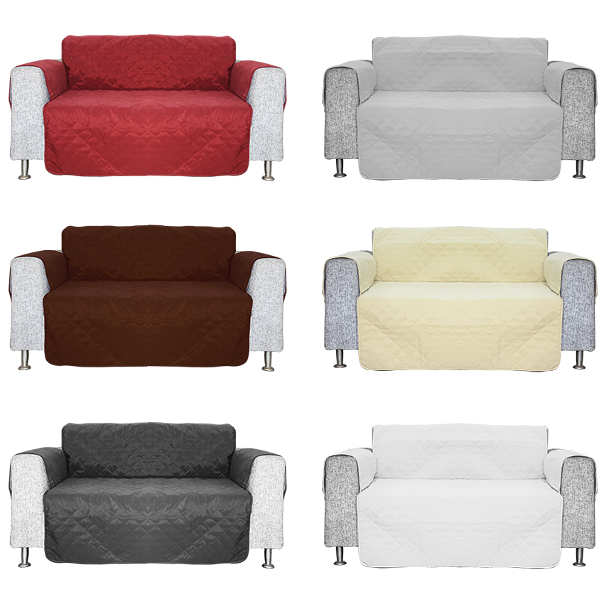 Quilted Sofa Chair Settee Armchair Pet Protector Slip ...