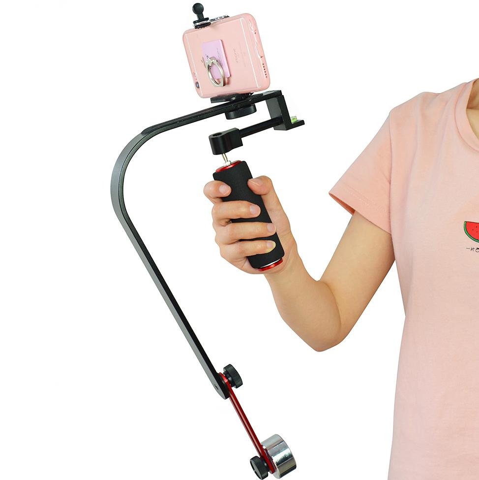 Handheld Video Stabilizer Steadicam For Gopro Iphone DV