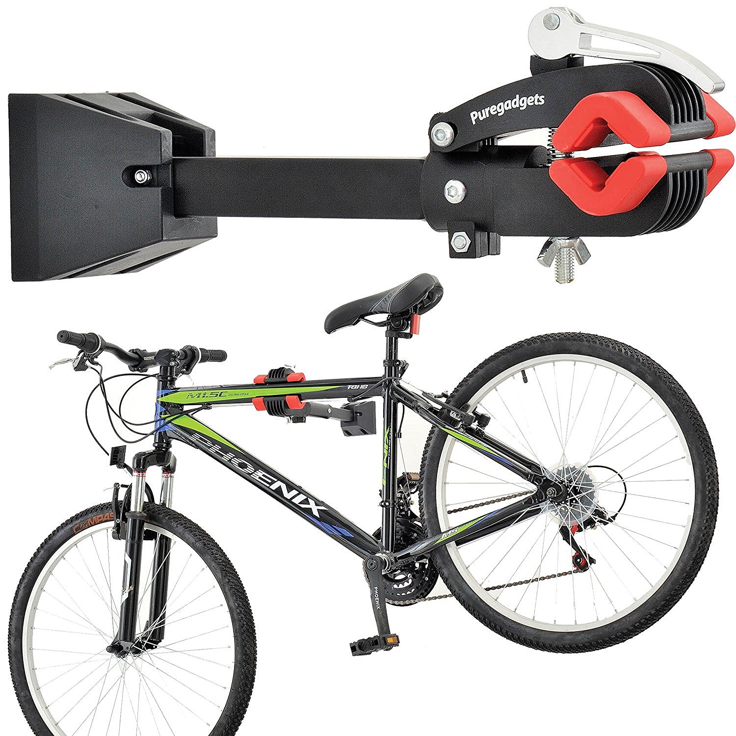 wall mount heavy duty bike bicycle maintenance mechanic. Black Bedroom Furniture Sets. Home Design Ideas
