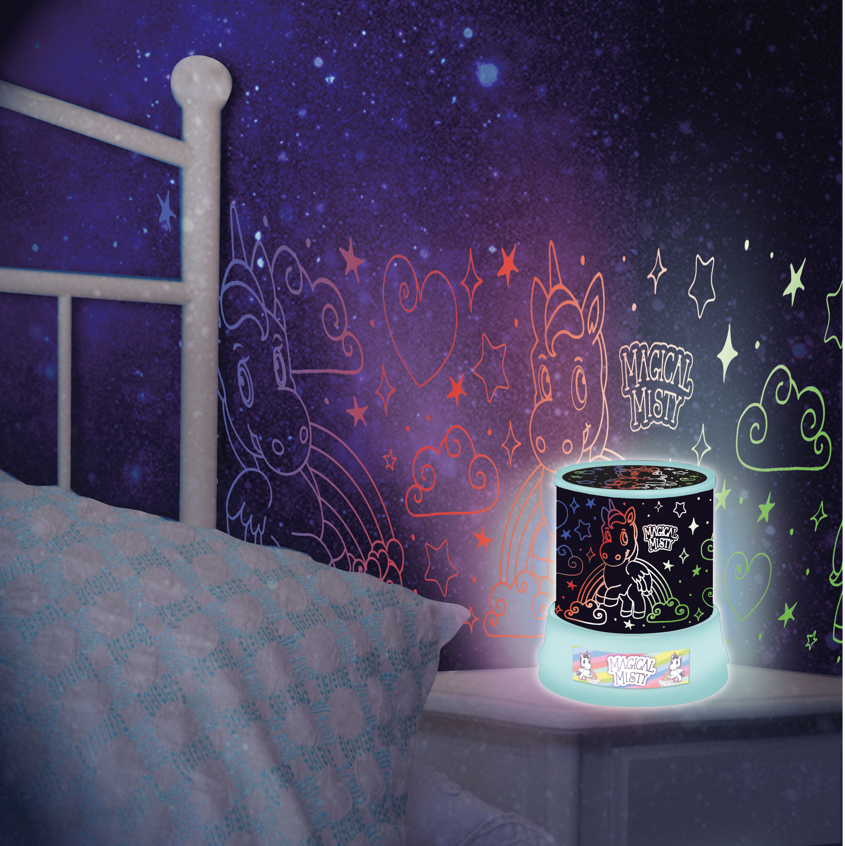 Amazing Unicorn Sky Fairy Star Night Light Led Projector