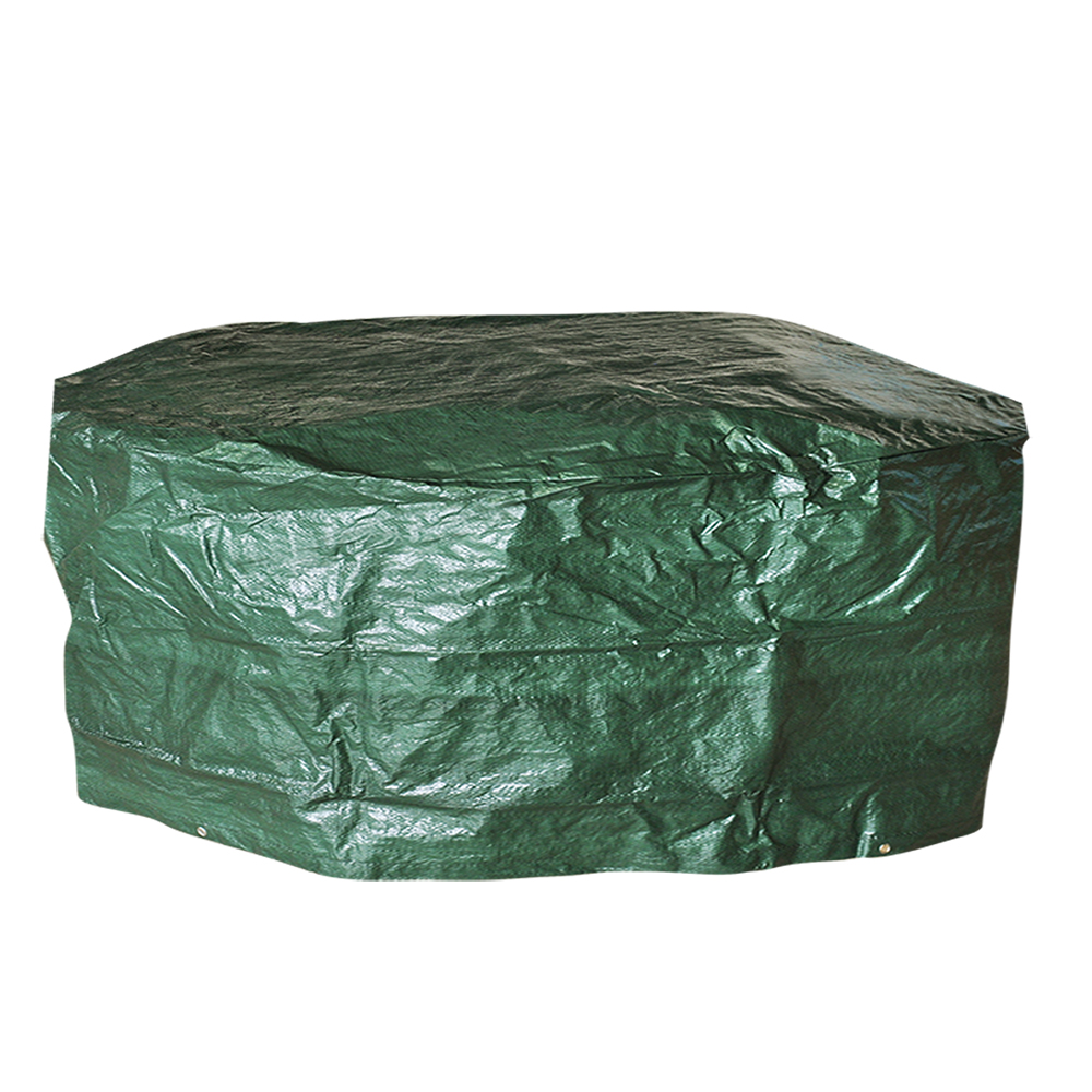 Material 100g M2 Woven Polyethylene Size Diameter 227cm X Height 100cm Heavy Duty Medium Round Garden Table And Chair Rain Cover