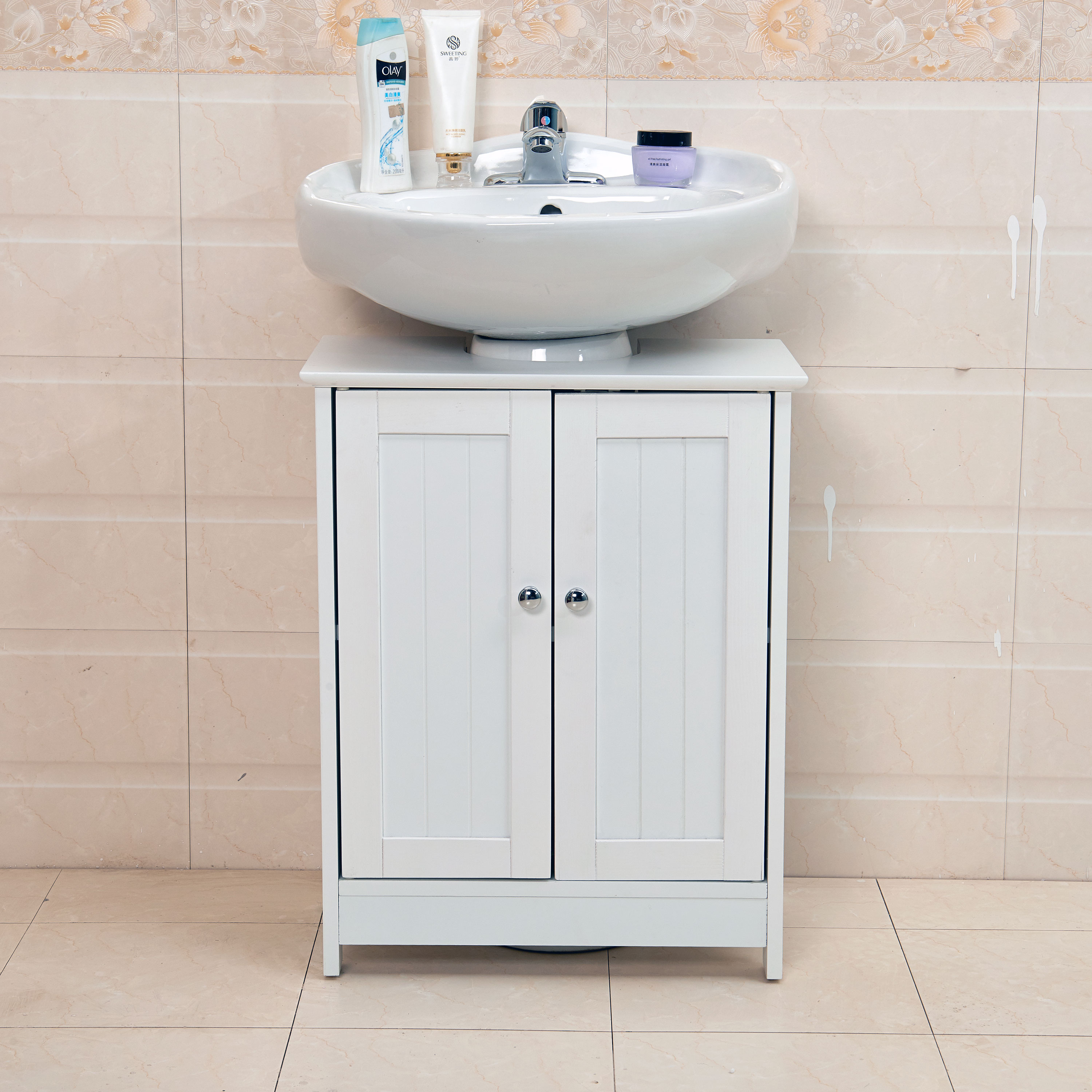 Under sink cabinet bathroom