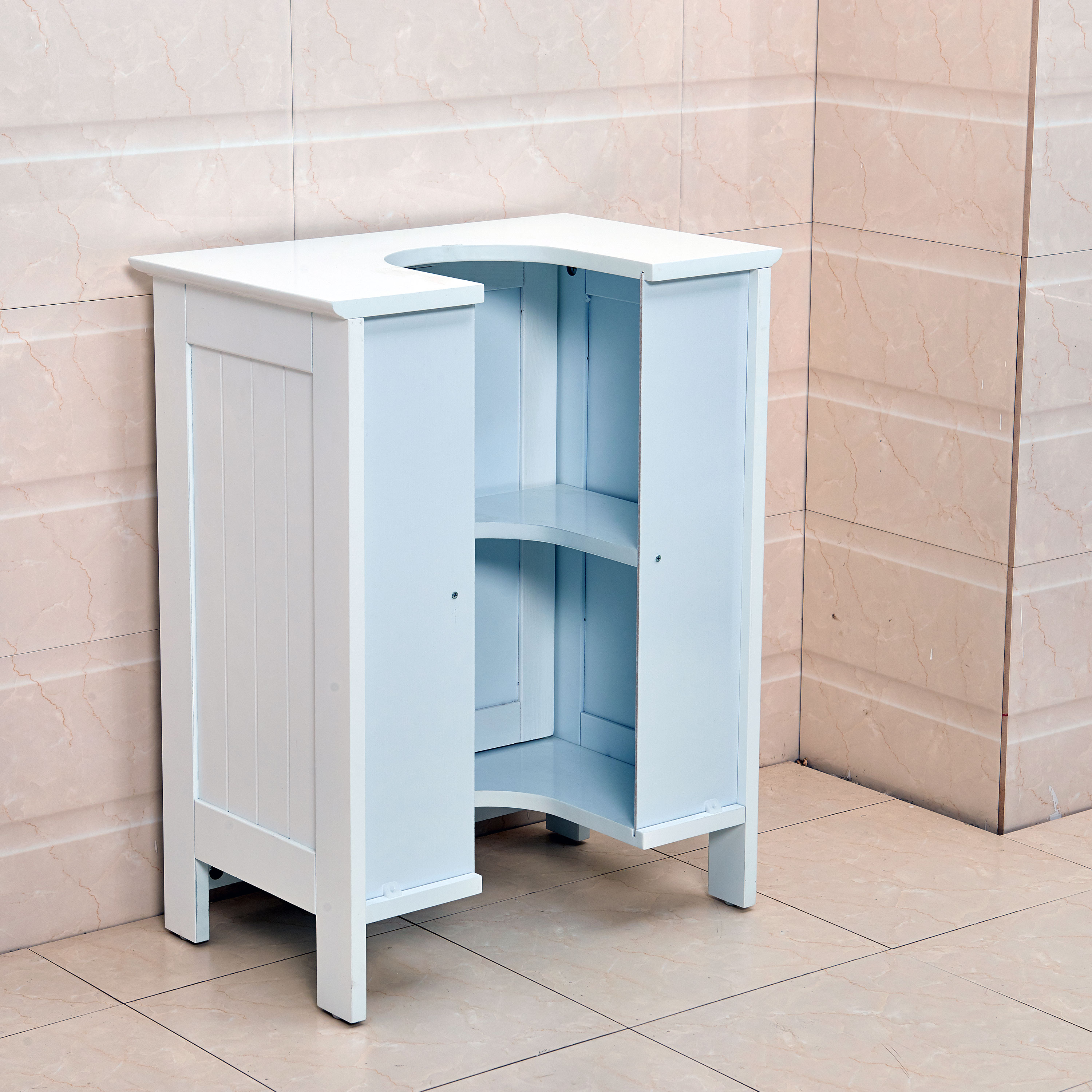 under counter storage cabinet undersink bathroom cabinet cupboard vanity unit sink 27554