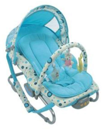 Baby Bouncer Rocker Chair Vibration Soothing Music Toys