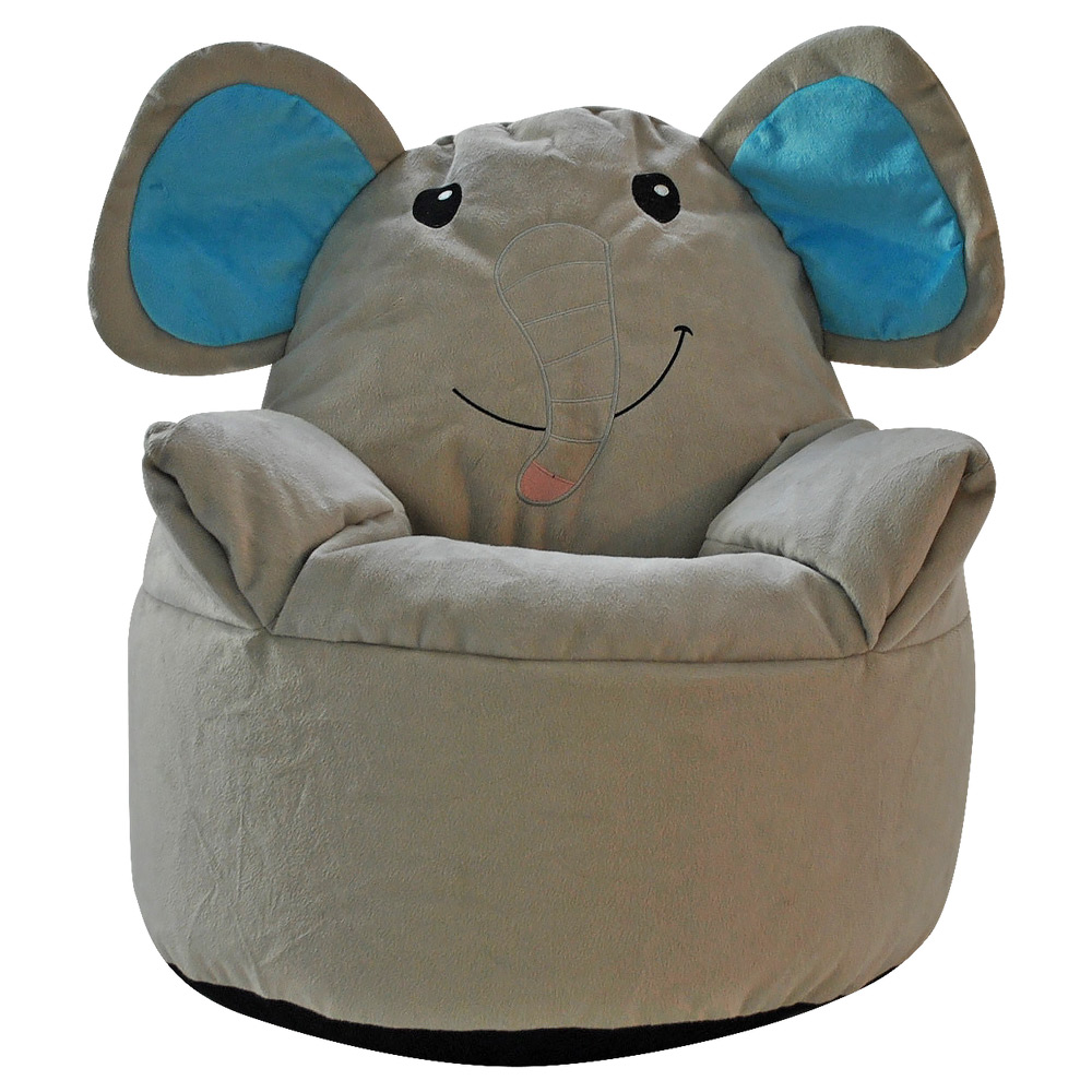 Kids Animal Design Armchair Beanbag Indoor Bedroom Pillow