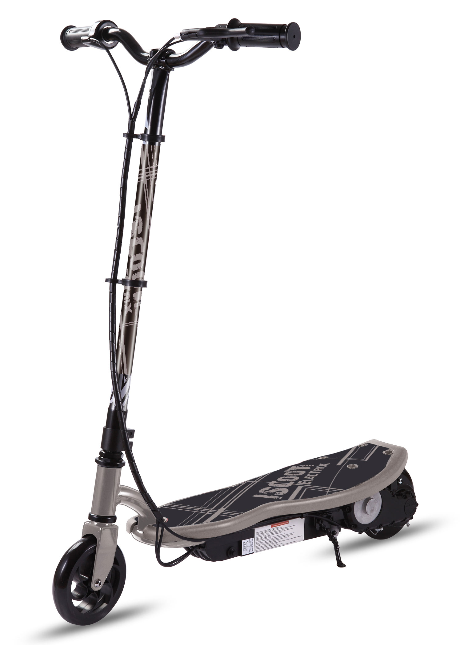 iscoot electrix electric scooter ride on outdoor street