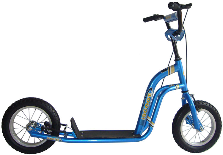 how to draw a bmx scooter