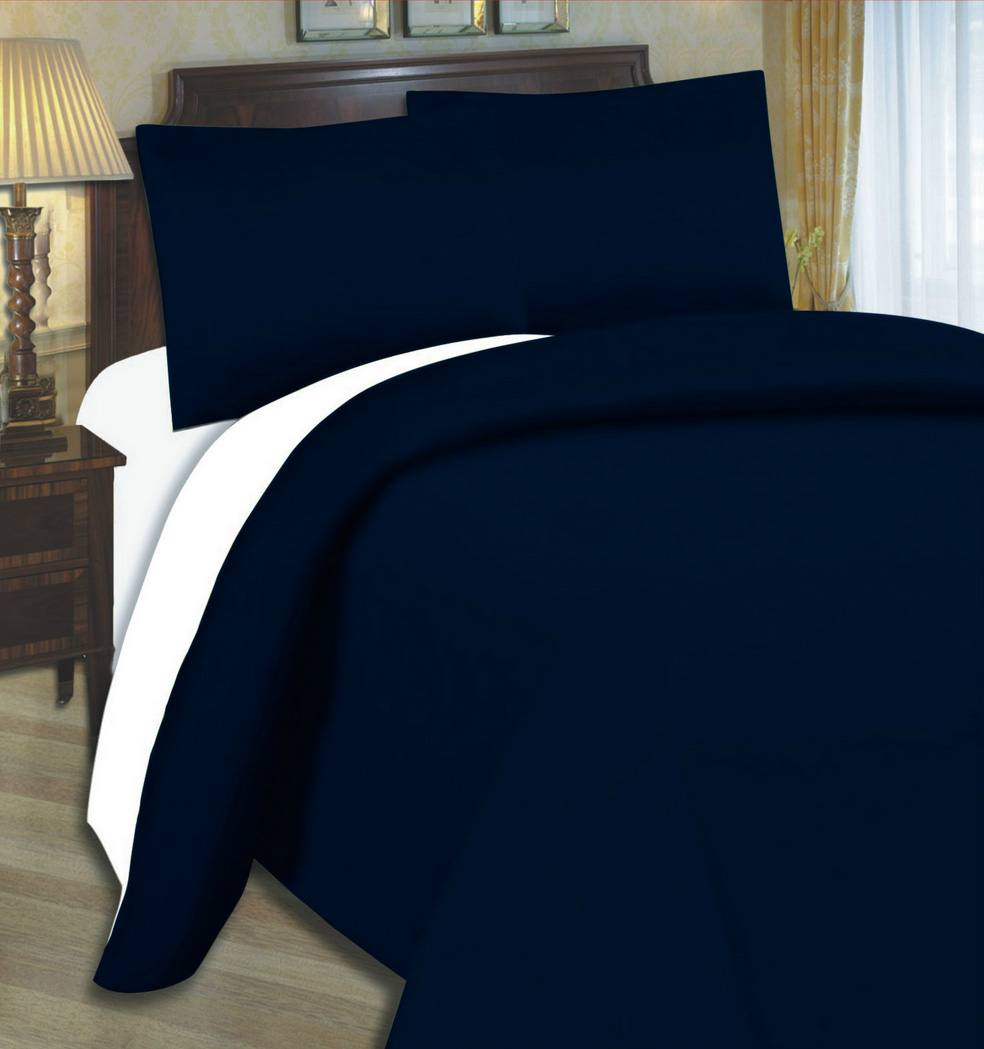 Attrayant Navy Blue Fitted Sheet