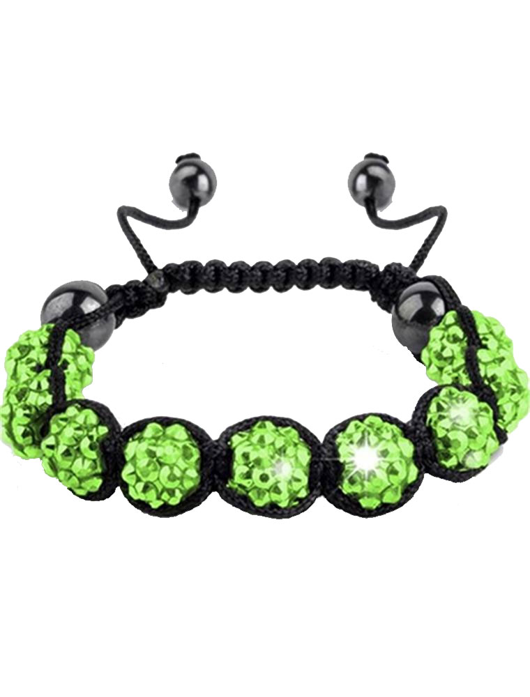 Premium-Clay-Crystal-Shamballa-Style-Disco-Friendship-Gem-Balls-Czech-9-Bracelet