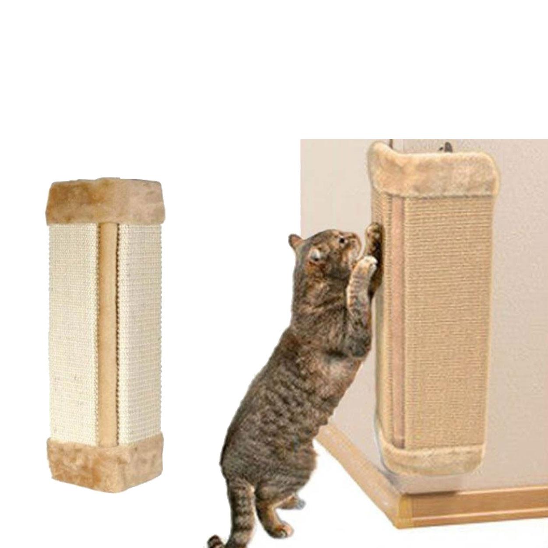 pet cat kitten corner sisal wall scratcher cats hanging scratching